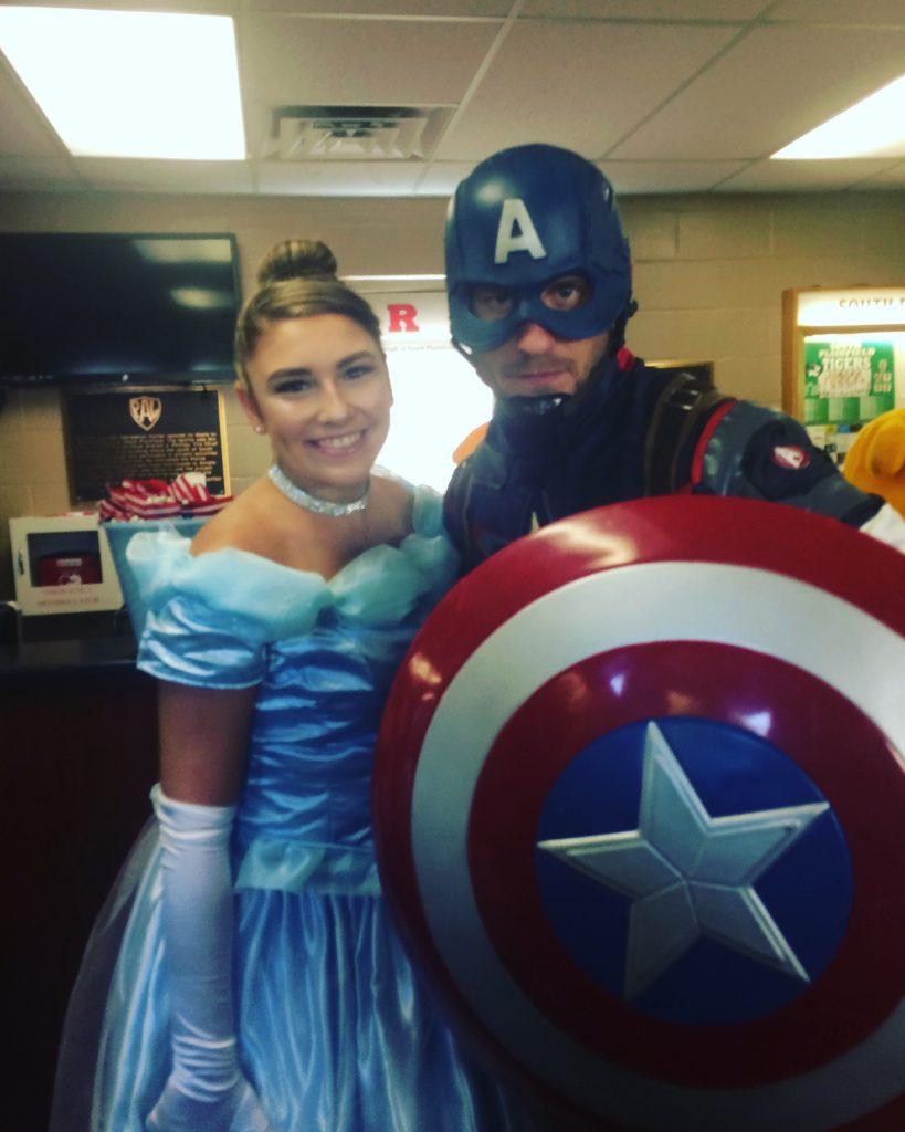 Captain America and Princess