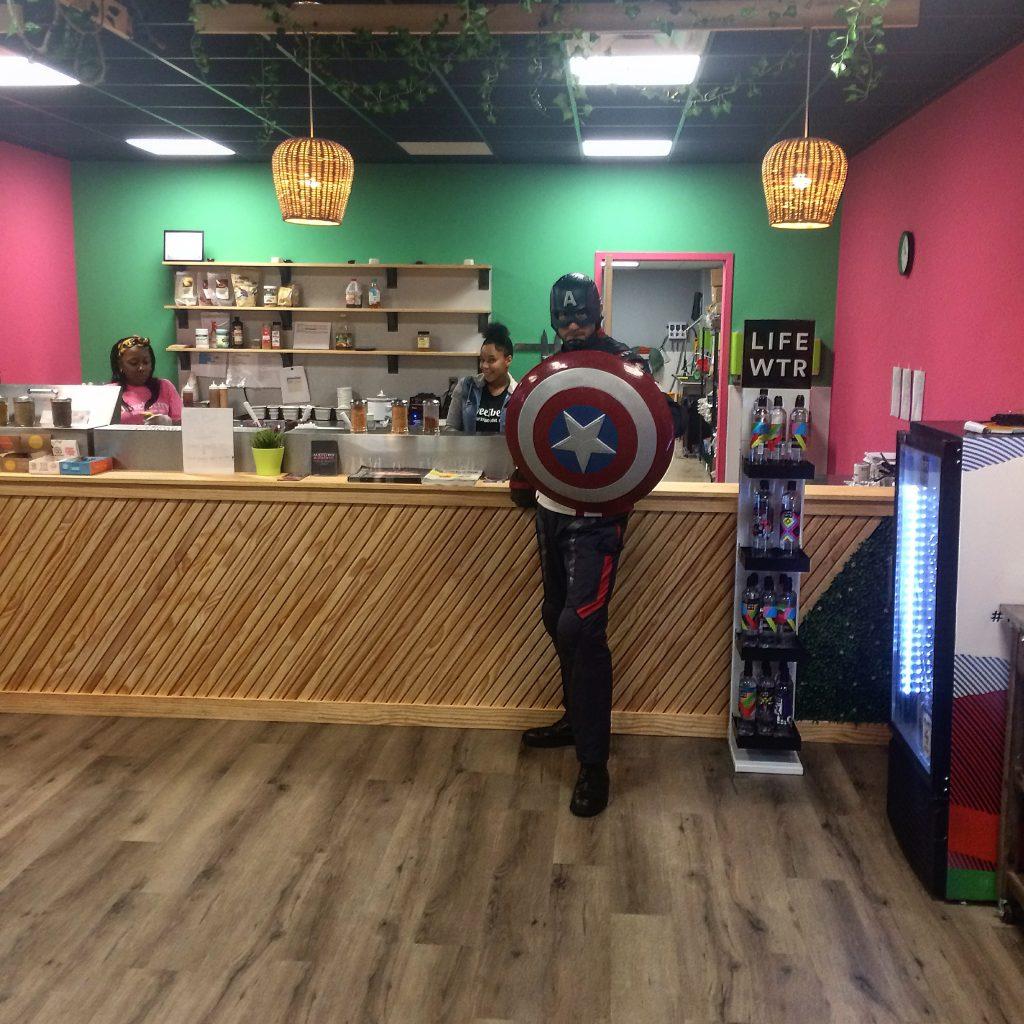Captain America promotion